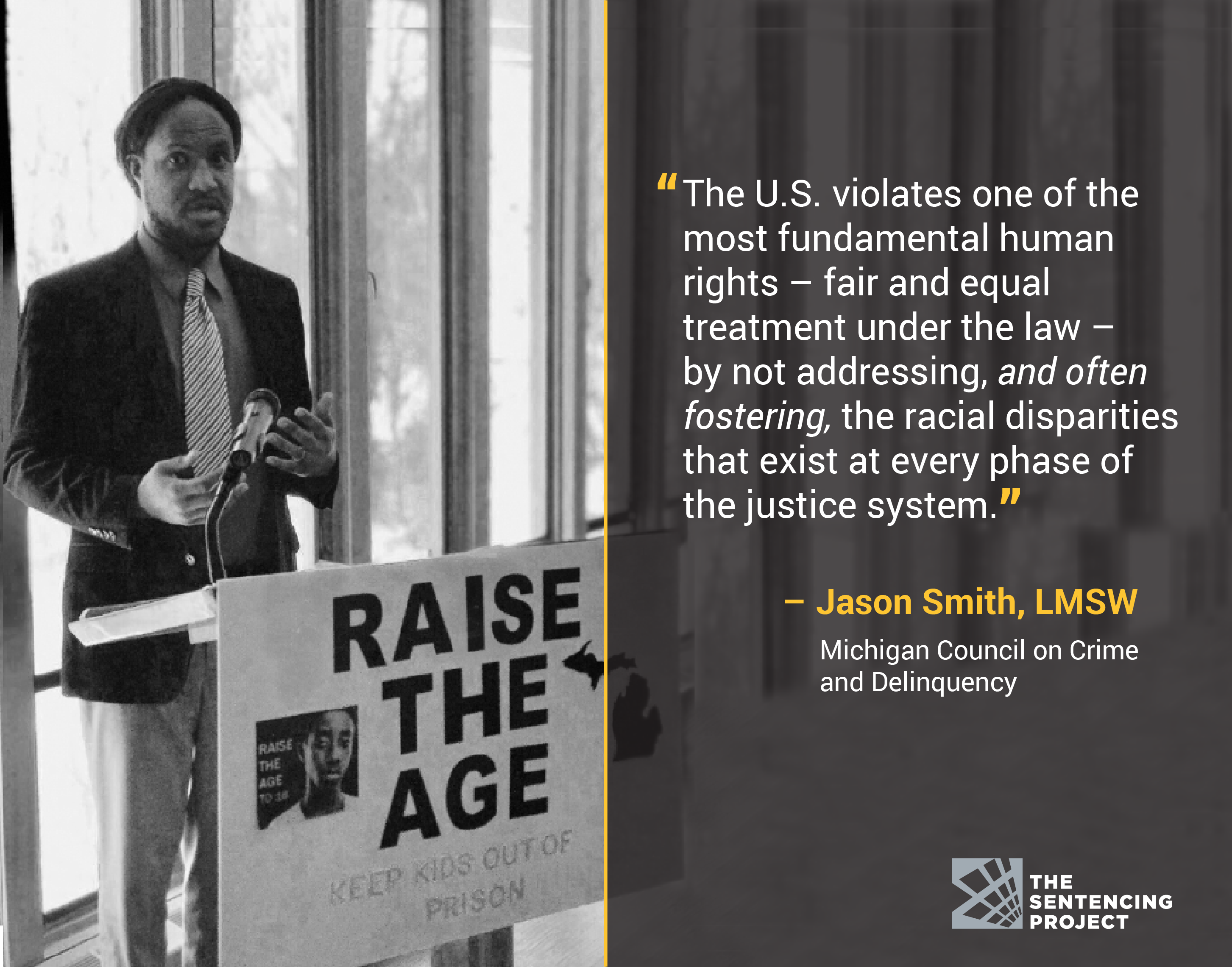 What has been the impact of the civil rights movement on crime and criminal justice?