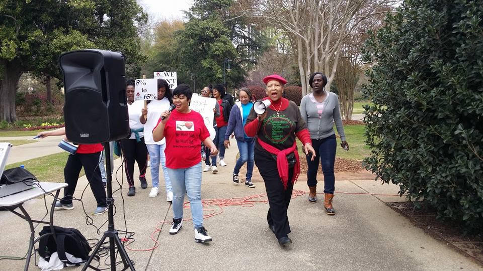 South Carolina sentencing reform rally 2018