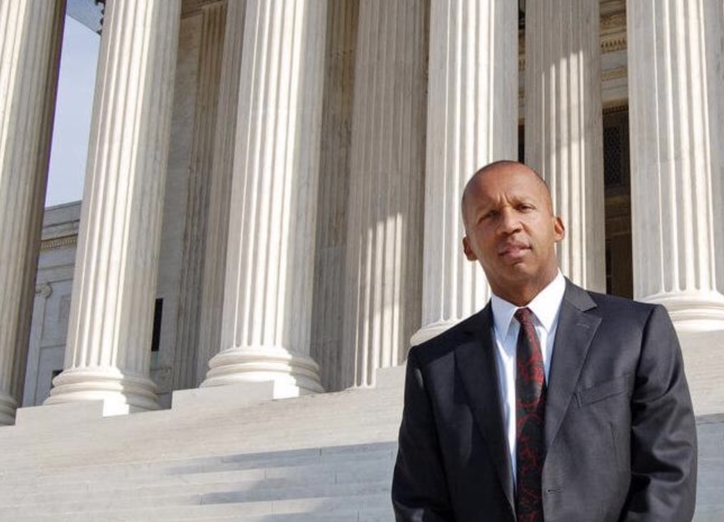 Bryan Stevenson, founder and executive director of Equal Justice Initiative, successfully argued Miller v. Alabama (2012), in which the Supreme Court ruled that the mandatory imposition of a life-without-parole sentence for homicide is a cruel and unusual sentence for youth under age 18. Photograph courtesy of the Equal Justice Initiative.